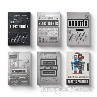 Robotik ve Elektronik Eğitim Seti (6 Kitap Takım) - Devrim Çamoğlu | Y