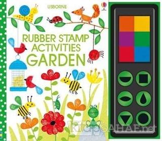 Rubber Stamp Activities Garden - Fiona Watt   Yeni ve İkinci El Ucuz K