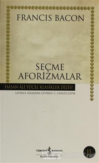 Seçme Aforizmalar - Francis Bacon | Yeni ve İkinci El Ucuz Kitabın Adr