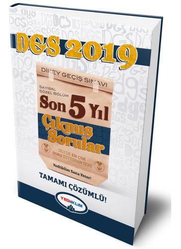 YEDİİKLİM YAYINEVİ 2019 DGS SAYISAL SÖZEL BÖLÜM TAMAMI ÇÖZÜMLÜ SON 5 Y
