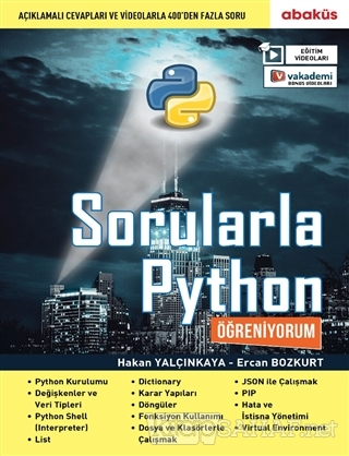 Sorularla Python Öğreniyorum - Ercan Bozkurt | Yeni ve İkinci El Ucuz