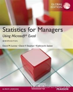 Statistics for Managers - David M. Levine | Yeni ve İkinci El Ucuz Kit