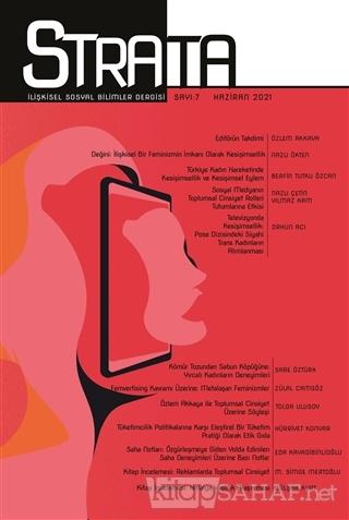 Strata İlişkisel Sosyal Bilimler Dergisi Sayı: 7 Haziran 2021 - Kolekt