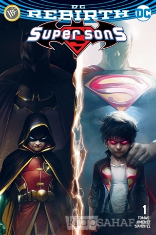 Super Sons Sayı 1 ( DC Rebirth ) - Peter J. Tomasi- | Yeni ve İkinci E