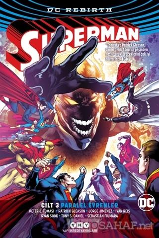 Superman Cilt 3 - Paralel Evrenler (Rebirth) - Peter J. Tomasi | Yeni