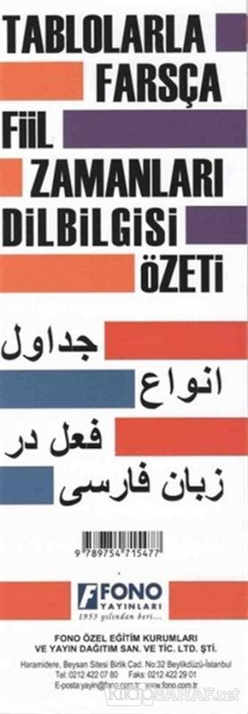 Tablolarla Farsça Fiil Zamanları Dilbilgisi Özeti - Kolektif | Yeni ve
