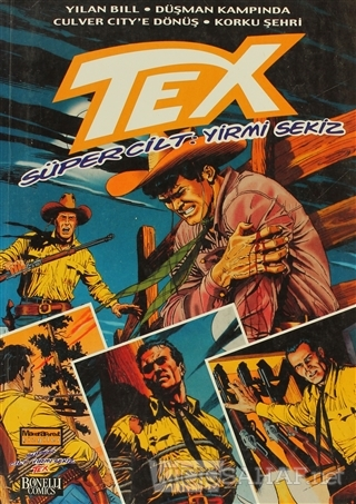 Tex Süper Cilt Sayı: 28 - Claudio Nizzi   Yeni ve İkinci El Ucuz Kitab