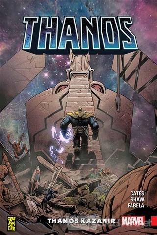 Thanos Kazanır - Donny Cates | Yeni ve İkinci El Ucuz Kitabın Adresi