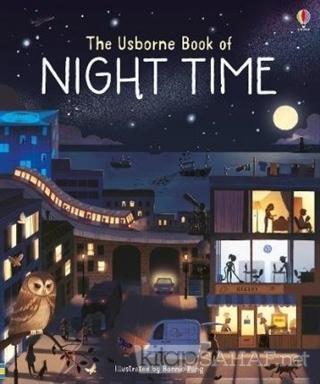 The Usborne Book of Night Time - Laura Cowan   Yeni ve İkinci El Ucuz