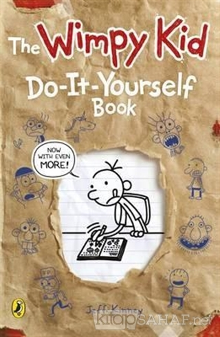 Diary of a Wimpy Kid: Do-It-Yourself Book - Jeff Kinney- | Yeni ve İki