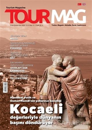 TOURMAG Turizm Dergisi Sayı: 21 Ocak-Şubat-Mart 2020 - Kolektif | Yeni