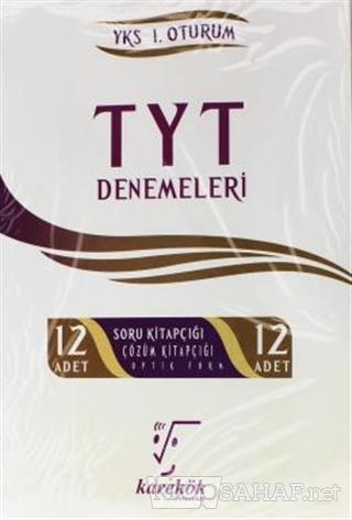 TYT 12'li Deneme YKS 1. Oturum - Kolektif | Yeni ve İkinci El Ucuz Kit