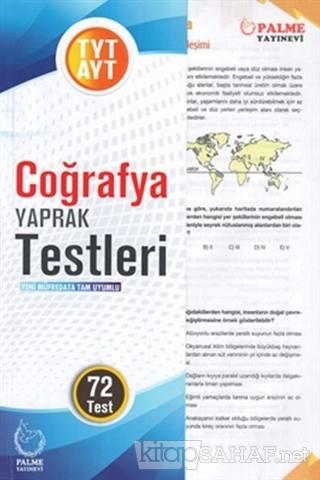 TYT AYT Coğrafya Yaprak Testleri - Kolektif | Yeni ve İkinci El Ucuz K