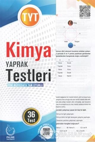 TYT Kimya Yaprak Testleri - Kolektif | Yeni ve İkinci El Ucuz Kitabın