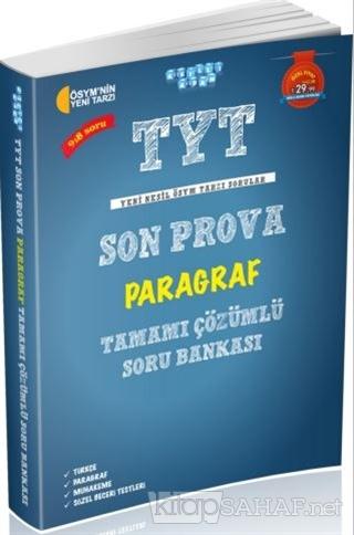 TYT Son Prova Paragraf Tamamı Çözümlü Soru Bankası - Kolektif | Yeni v