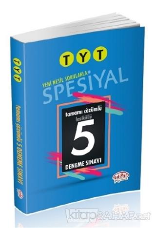 TYT Spesiyal Tamamı Çözümlü 5 Deneme Sınavı Fasiküllü - Turgut Meşe |