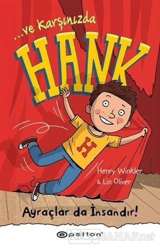 Ve Karşınızda Hank - Ayraçlar da İnsandır! (Ciltli) - Henry Winkler |