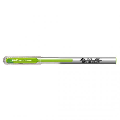 Faber Castell Açık Yeşil True Gel Colour Tükenmez Kalem -   Yeni ve İk