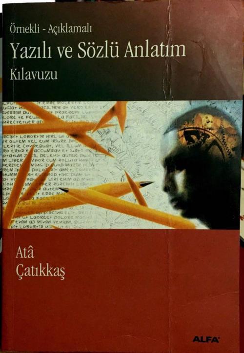 Yazılı ve Sözlü Anlatım Kılavuzu - M. Ata Çatıkkaş | Yeni ve İkinci El