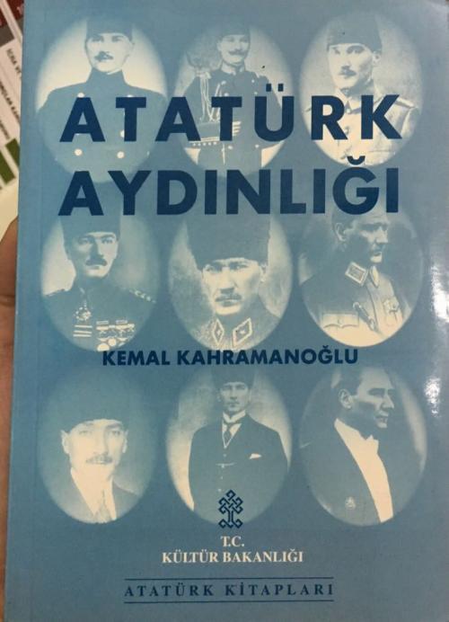 Atatürk Aydınlığı - Kemal Kahramanoğlu   Yeni ve İkinci El Ucuz Kitabı