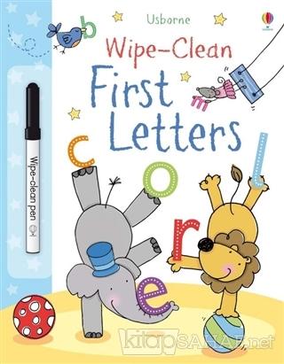 Wipe Clean First Letters - Felicity Brooks | Yeni ve İkinci El Ucuz Ki