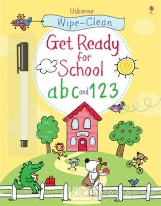 Wipe-Clean - Get Ready For School Abc and 123 - Sam Taplin | Yeni ve İ