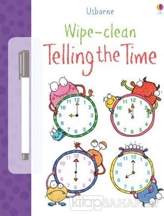 Wipe-Clean - Telling The Time - Jessica Greenwell | Yeni ve İkinci El