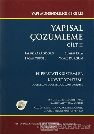 Yapısal Çözümleme Cilt: 2 (Ciltli) - Faruk Karadoğan | Yeni ve İkinci