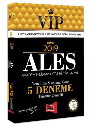 2019 ALES VIP Yeni Sınav Sistemine Göre Tamamı Çözümlü 5 Deneme - Kole