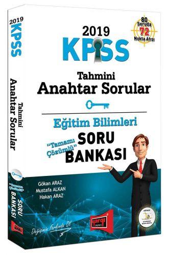 2019 KPSS Eğitim Bilimleri Tahmini Anahtar Sorular Tamamı Çözümlü Soru