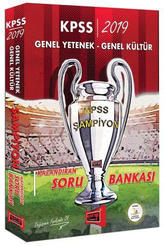 2019 KPSS Genel Yetenek Genel Kültür ŞAMPİYON Kazandıran Soru Bankası