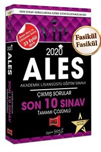 2020 ALES VIP Tamamı Çözümlü Son 10 Sınav Çıkmış Sorular - Kolektif |