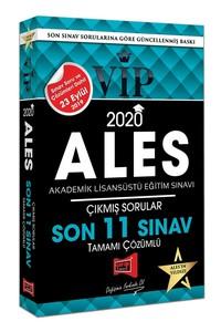 2020 ALES VIP Tamamı Çözümlü Son 11 Sınav Çıkmış Sorular - Kolektif |