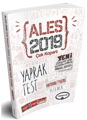 2019 ALES SAYISAL YETENEK-SÖZEL YETENEK ÇEK KOPART YAPRAK TEST - KOLLE