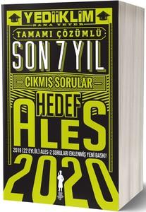 2020 ALES SON 7 YIL TAMAMI ÇÖZÜMLÜ ÇIKMIŞ SORULAR(22 EYLÜL ALES-2 EKLİ
