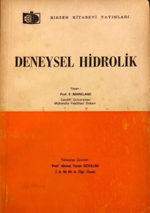 Deneysel Hidrolik - E. Markland- | Yeni ve İkinci El Ucuz Kitabın Adre
