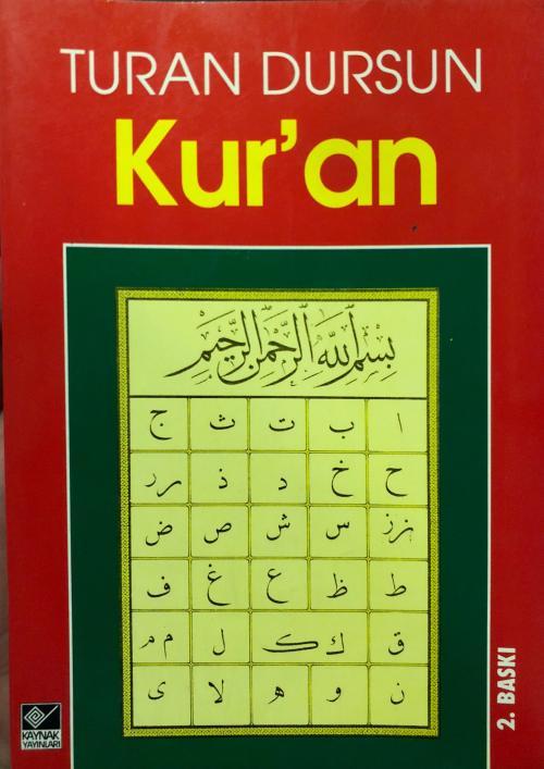 Kuran - Turan Dursun | Yeni ve İkinci El Ucuz Kitabın Adresi
