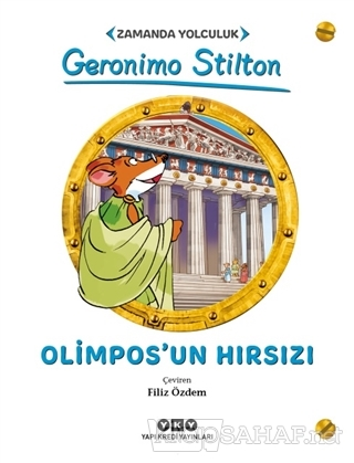 Zamanda Yolculuk - Olimpos'un Hırsızı - Gerenimo Stilton- | Yeni ve İk