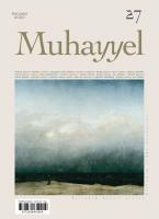 Muhayyel Dergi 27. Sayı Temmuz 2020