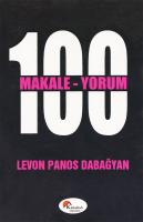 100 Makale - 100 Yorum