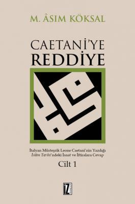 Caetani'ye Reddiye (2 Cilt)