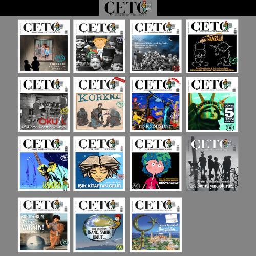 Çeto Dergisi 16 Sayı TEK SET