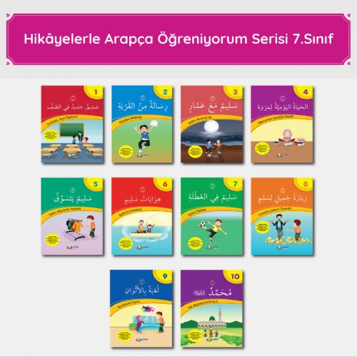7. Sınıf Arapça Hikâye Seti Münevvere Kocaer