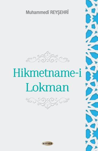 Hikmetname-i Lokman %25 indirimli Muhammed Reyşehri