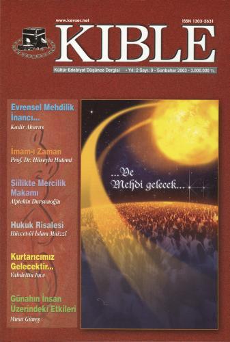 Kıble Dergisi - Sayı 09 Komisyon (Kıble Dergisi)