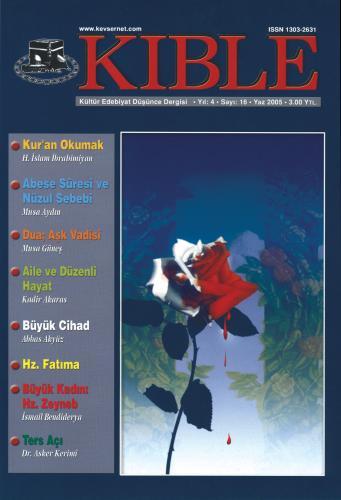 Kıble Dergisi - Sayı 16 Komisyon (Kıble Dergisi)