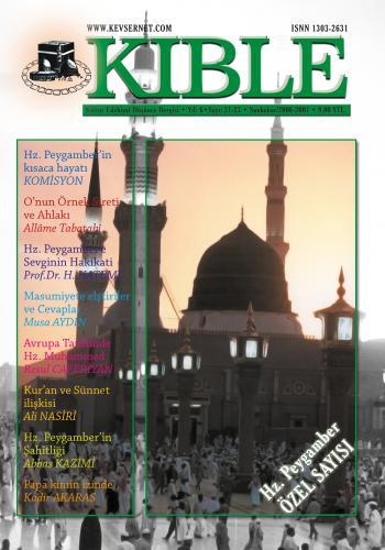 Kıble Dergisi - Sayı 21-22-23 Komisyon (Kıble Dergisi)