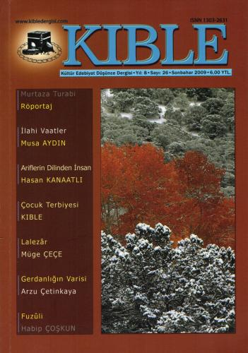 Kıble Dergisi - Sayı 26 Komisyon (Kıble Dergisi)