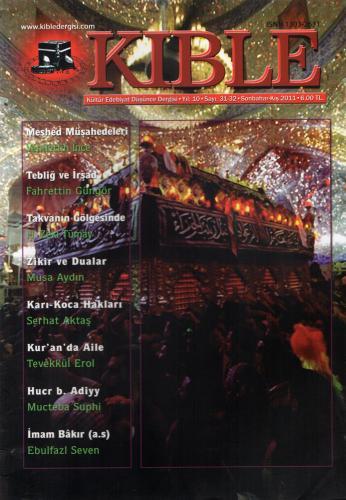 Kıble Dergisi - Sayı 31-32 Komisyon (Kıble Dergisi)