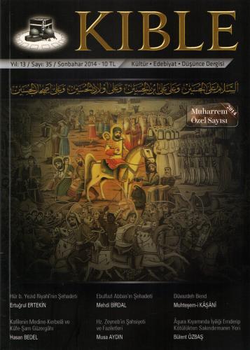 Kıble Dergisi - Sayı 35 (Muharrem Özel Sayısı) Komisyon (Kıble Dergisi